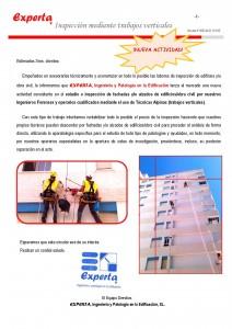 Cir. 205i  Trabajos verticales EXPERTA INGENIERÍA