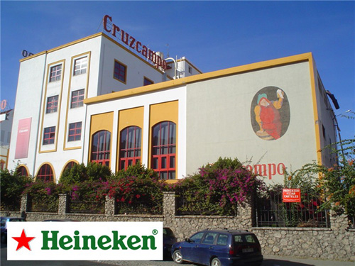 Antigua fábrica de Cruzcampo.