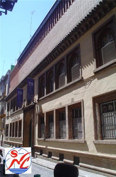 Edificio Club  Natación de Sevilla.